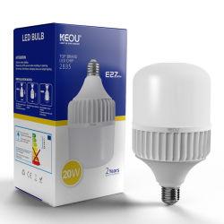 무료 샘플 디스트리뷰터 18W 28W 48W 38W 큰 란 T 모양 램프 PC 알루미늄 B22 E27 LED 전구, 에너지 절약 램프, 점화, 램프, LED 전구, LED 램프, LED 빛