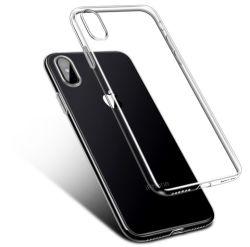 Duidelijk Beschermend Op zwaar werk berekend Geval met het Zachte Transparante Geval van de Bumper TPU [Slanke Dun] voor iPhone Xr 6.1 Duidelijk duim-Kristal