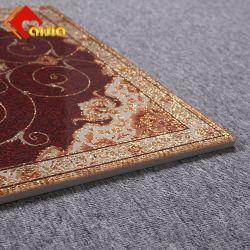 Tegel van Rangoli van het Tapijt van de Vloer van het Decor van het Porselein van het Kristal van Foshan de Fabriek Opgepoetste voor Hotel
