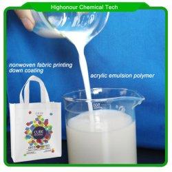 부직포 인쇄용 접착 코팅 화학물질
