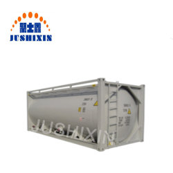 20ft Bulk Cement/Flour/Coal/Plastics Granulaten Iso Tank Container