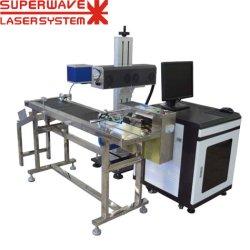 CO2 hohe Leistungsfähigkeits-Laser-Markierungs-Maschine auf Plastik