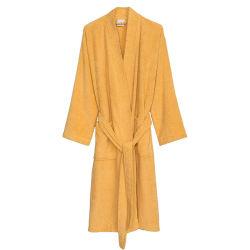 Frauen-Robe-türkische Baumwollterry-Kimono-Bad-Tuch-Robe