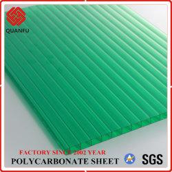 Proteção UV oco de policarbonato PC folha a folha da Sun para Carports