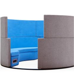 Тип ткани C Форма диван/ стенд для отдыха/ Совещание диван с экрана телевизора и системы регистрации