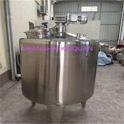 Chauffage refroidissement isotherme en acier inoxydable cuve de fermentation pour la chimie alimentaire