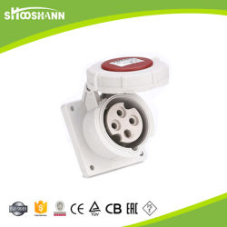 Nieuw Ontwerp Industrieel Ip44 Multi Plug-Socket Voor Wandmontage