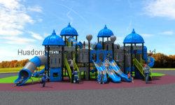 2019 Nouveau moule Factory enfants Aire de jeux extérieur/intérieur de l'exercice Faites glisser l'équipement Amusement Park et de la Corée européenne château (HD-HOH005-19058)