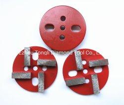 Diamante de 4 pulgadas Muela/Pastillas para Hormigón pulido de diamantes
