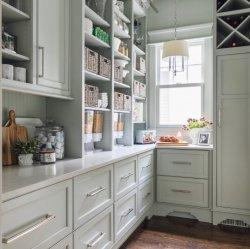 Panel de agitador Stock Capicity grandes gabinetes de cocina