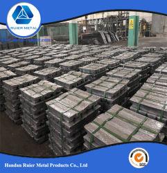 Factory Direct de haute qualité d'alimentation et de haute pureté lingots à 99.994 % de plomb avec le meilleur prix