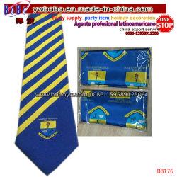Lazo personalizado para la escuela, bufanda tejida corbata corbata corbata corbata de seda Kid Bowtie (B8176)