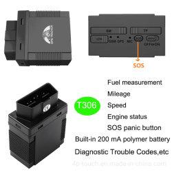 Funcionamiento sencillo seguimiento GPS vehículo Tracker Obdii T306