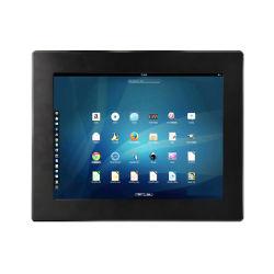 12 pulgadas WINCE 6.0 Todo-en-uno sin ventiladores industriales Wall-Mounted Touch Panel PC Tablet PC Proveedor