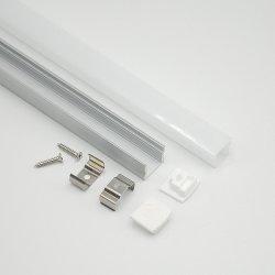 L2000*W17.1*H15.2mm maak Verlichting van het Kanaal van de Grond van het LEIDENE Profiel van het Aluminium de Lichte waterdicht
