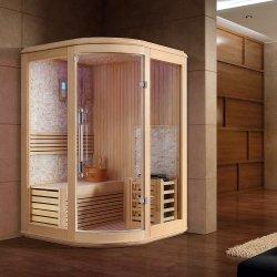 Een Tot Twee Personen Indoor Corner Afslanken Droge Sauna Kamer