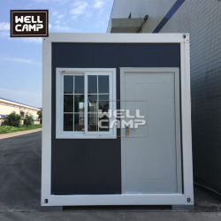 Ökonomisches Flachgehäuse-Fertigbehälter-Büro-Haus für Verkauf