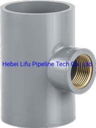 Tuyau en PVC de haute qualité en réduisant le raccord en T fileté en cuivre PN20 la norme DIN