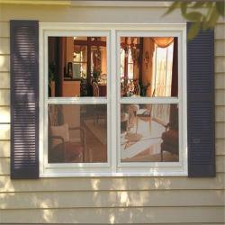 نافذة زجاجية مزدوجة مصنوعة من الألومنيوم المخصص في الأعلى للبيع