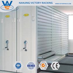 Gain d'espace de stockage de dépôt en acier inoxydable de l'étagère de rack/Présentoir en métal Mobile livre Livre de cabine d'étagère de rack