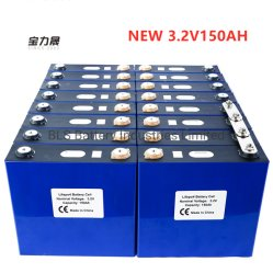 Nouveau 3.2V150Ah lithium phosphate de fer de cellules de batteries LiFePO4