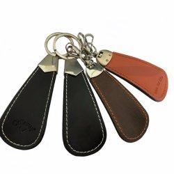 Рекламные Custom кожаные башмак Африканского Рога дешевые апельсиновый цепочке для ключей