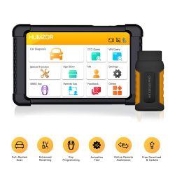 Humzor Nexzdas Bluetooth PRO 10inch Tablet Auto completa del sistema profesional de la herramienta de diagnóstico OBD2 escáner con IMMO/ABS/Epb/SAS/dpf/aceite restablecer