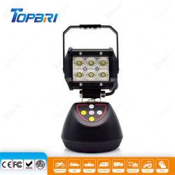 18W Lumière LED blanc Rechargeable auto voiture Voyant orange feu antibrouillard