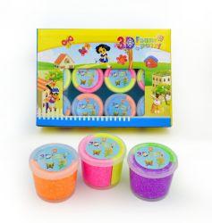Bon marché et couleurs 3D haute qualité de la mousse de Putty la modélisation de l'argile