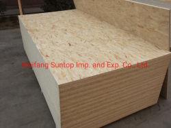 9mm OSB tablón de madera utilizado para la construcción de techos y