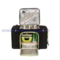 Grande sacchetto isolato termico esterno del dispositivo di raffreddamento della casella di pranzo