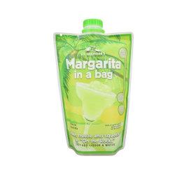 صنع وفقا لطلب الزّبون شركة طبع علامة تجاريّة بلاستيكيّة شراب شراب حقيبة