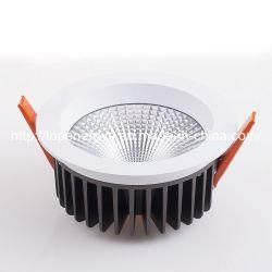 LED haute puissance Downlight encastré pour boutique de décoration de l'hôtel 50W à intensité réglable Downlight Led 10 pouces