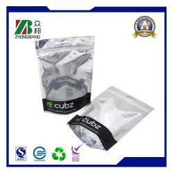 De douane Afgedrukte Plastic Verpakking van de Tablet van de Zak van de Ritssluiting van de Aluminiumfolie