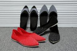 Além de tamanho de malha aerada Platform Tênis Deslizamento das mulheres sobre as Senhoras Casual tênis de corrida Mulher Knit Sock Calçados Flats