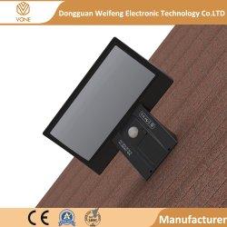 옥외 장식적인 정원 태양 벽 LED 가벼운 IP65 90 LED 태양 벽 빛 태양 LED 효력 램프 빛