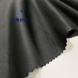 Ym9389 Satin tissu de polyester de la peau de pêche en microfibre pour des coups de feu Beachwear pantalons en tissu