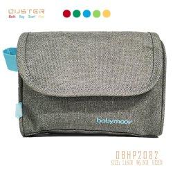 2020 Fabric Imprimir Makeup bag bolsa da embreagem zíper de nylon de Bolsas Cosméticos titular de Higiene Pessoal Clara Saco de lavar o saco de produtos cosméticos