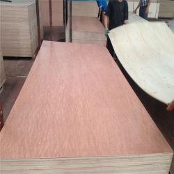 12mm folheado Okoume choupo Madeira contraplacada comercial para o uso de mobiliário com aprovado pela CE