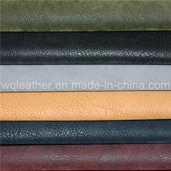 3163-Fashion de nouveaux produits en cuir nubuck gaufré PU synthétique