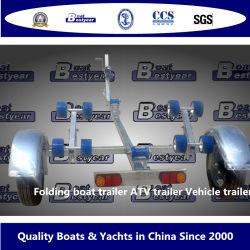 Bestyear Steel Folding Trailer for boat Vehicle ATV Length2.3m 4.8m