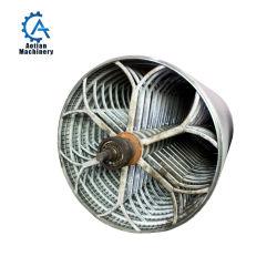 Cilindro de la placa de acero inoxidable del molde para máquina de fabricación de papel