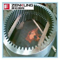 4140 4340 acero aleado, endurecidas espiral de mecanizado de precisión Gran Corona
