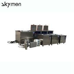 Ультразвуковой медицинской промышленности для мойки оборудования для головки блока цилиндров двигателя одинарного или двойного/двойной частоты 28 Кгц/40 Кгц поверхностей системы машины большой топливный бак
