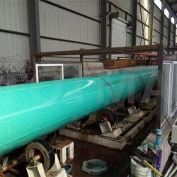 Опрыскивание полиуретановой краской полимочевинную покрытие трубопровод Anti-Corrosion покрытие