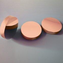 Round Plano lentille en verre sphérique concave miroirs optiques avec UV-Enhanced aluminium métallique