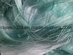 Rete di nylon verde dei pesci dell'attrezzatura di pesca del monofilamento