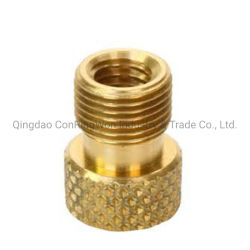 Connecteurs de borne de cuivre usiné CNC avec un placage or/pièce usinée en laiton de précision/partie usinée