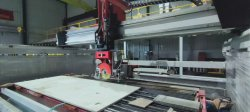 Ponte de cabeça Marítimas Serra cortadores com solução industrial completo
