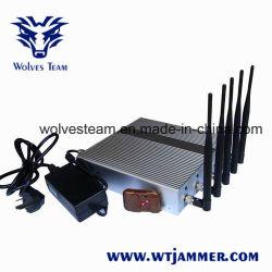 원격 제어 신호 방해기를 가진 5개의 악대 셀룰라 전화 GPS